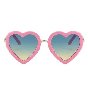 Other - Toddler/Girls Heart Shaped Sunglasses